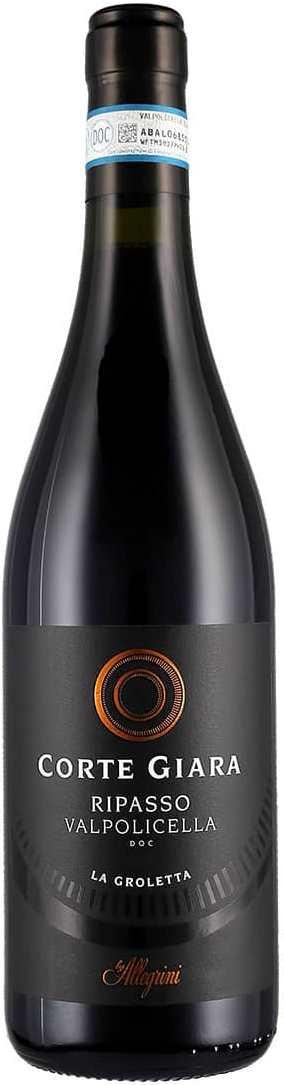 Вино Ripasso Valpolicella La Groletta» DOC, 2016