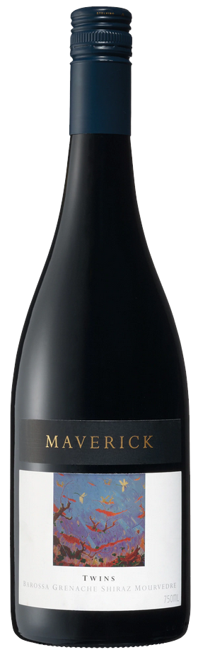 Вино Maverick, Twins GSM (Grenache Shiraz Mourvedre), Barossa Valley, 2014