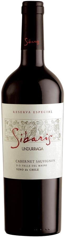 Вино Undurraga, «Sibaris» Cabernet Sauvignon Reserva Especial, Maipo Valley DO, 2014