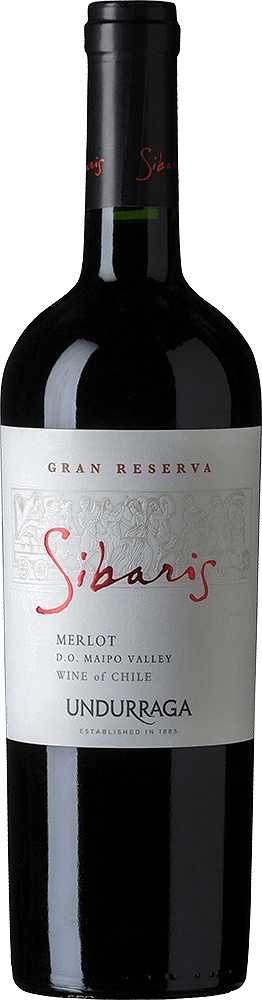 Вино Undurraga, «Sibaris» Merlot Gran Reserva, Maipo Valley DO, 2014