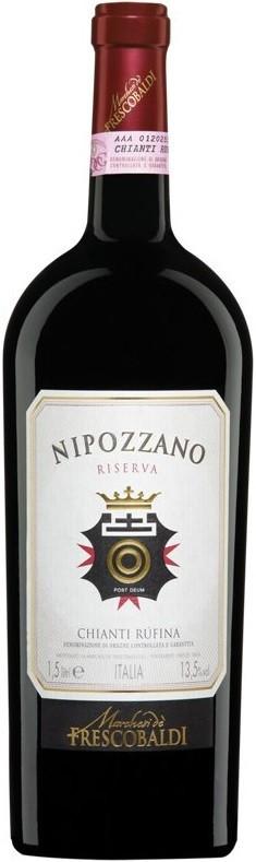 Вино «Nipozzano» Chianti Rufina Riserva DOCG, 2013, 1.5 л