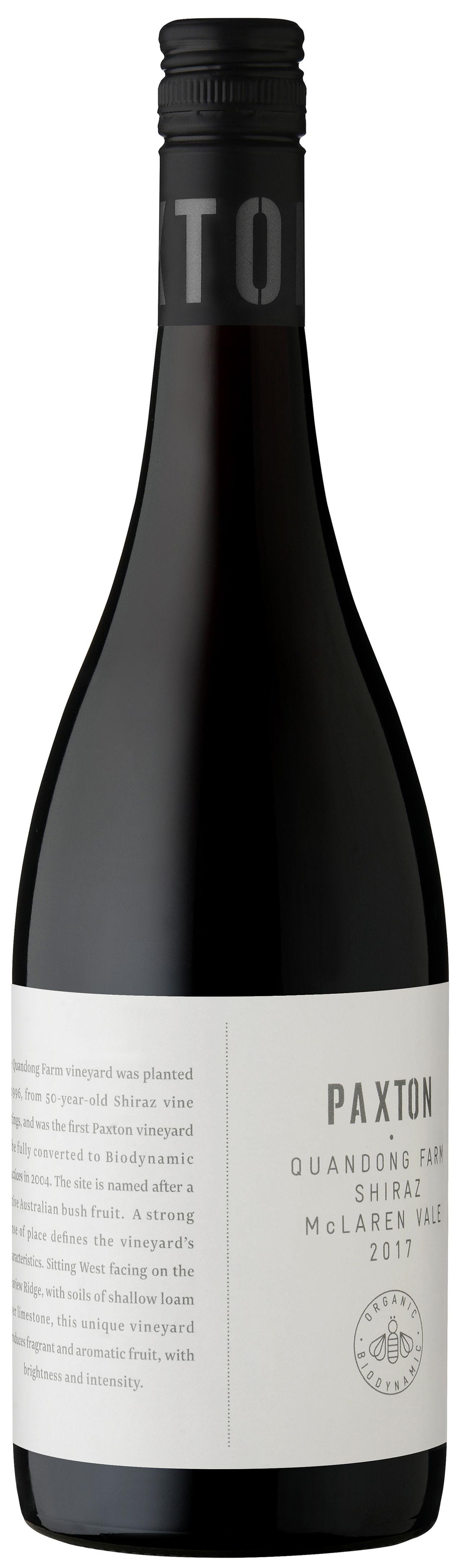 Вино Paxton Wines, «Quandong Farm» Shiraz, 2016