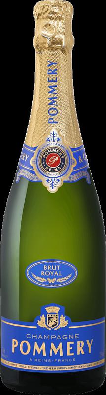 Шампанское Pommery, Brut Royal, Champagne AOC