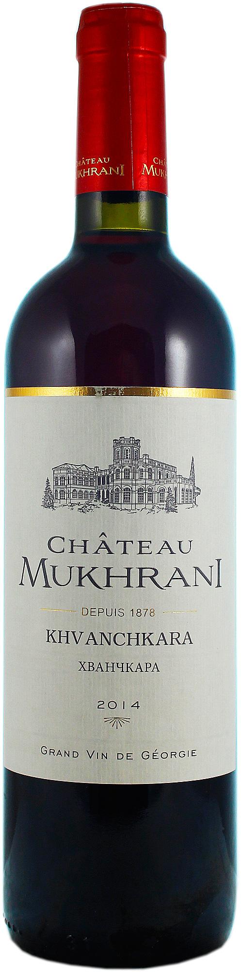 Вино Chateau Mukhrani, Khvanchkara AOC